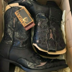 Ariat Dahlia Black Women's Boots Size 8.5